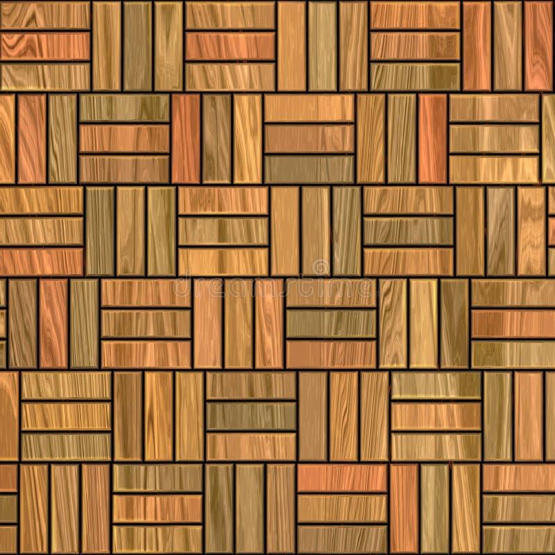 De vloer van het parket vector illustratie