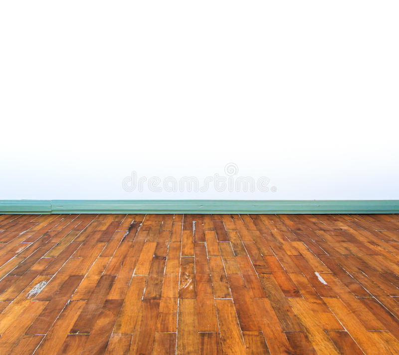De vloer van het parket stock foto