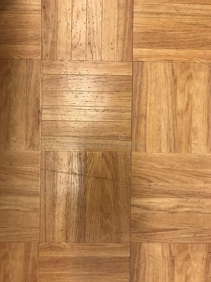 De vloer van het parket stock afbeelding