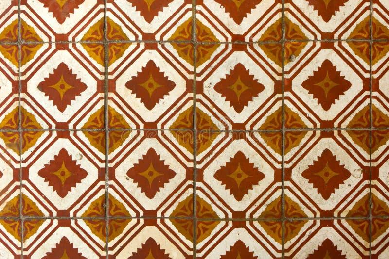 De vloerpatroon van de tegel stock fotografie