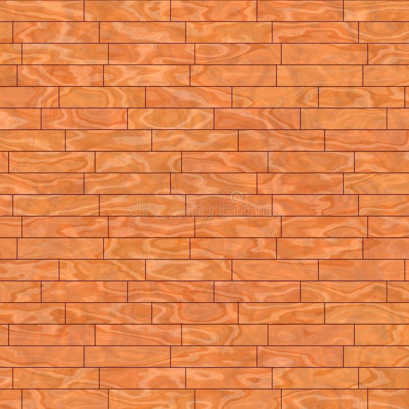De vloerplank van het parket stock illustratie
