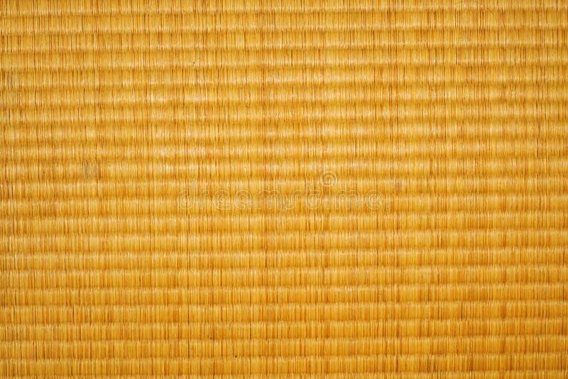 De vloertextuur van Tatami stock foto's