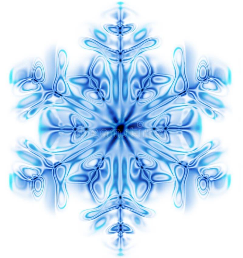 De vlok van de sneeuw royalty-vrije illustratie