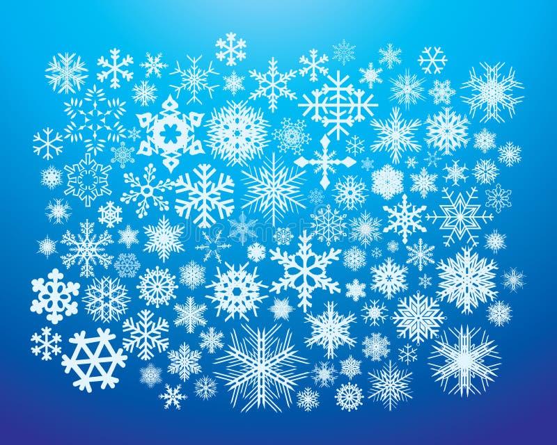 De Vlokken van de sneeuw