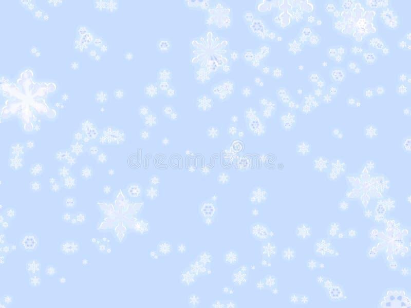 Download De vlokken van de winter stock illustratie. Afbeelding bestaande uit koude - 49328