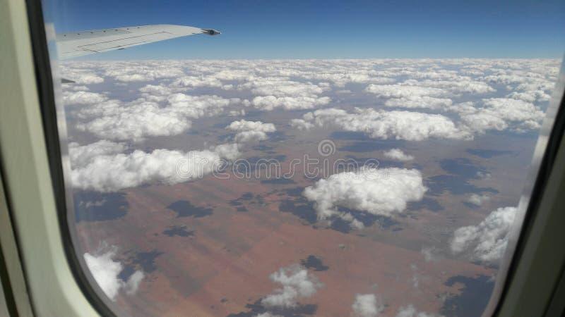 De vlucht van Namibië royalty-vrije stock foto