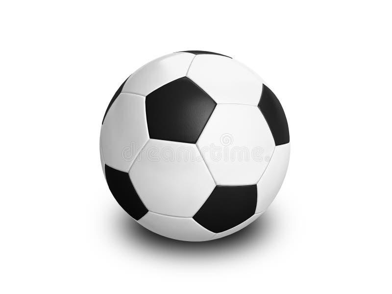 De Voetbal van de Bal van het voetbal royalty-vrije stock afbeeldingen