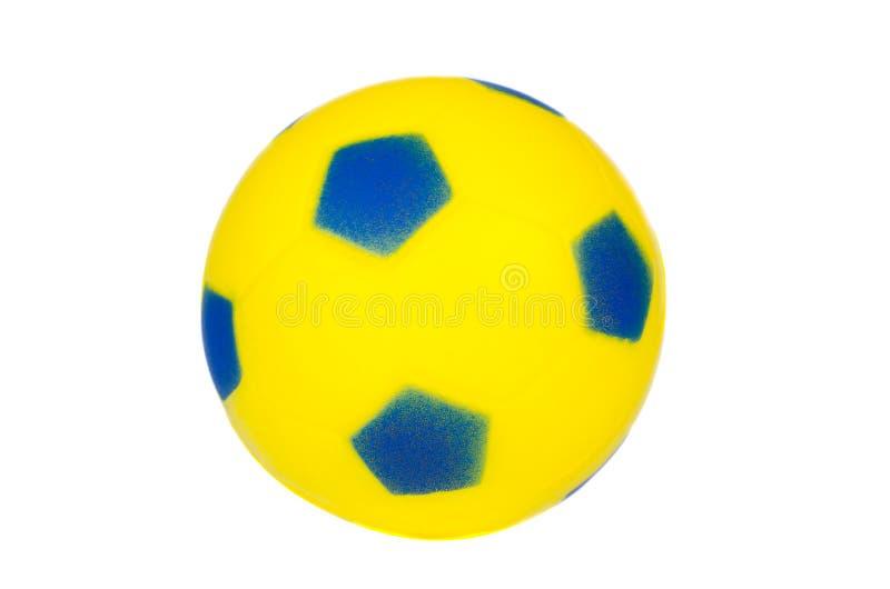 De voetbal van het stuk speelgoed royalty-vrije stock foto's