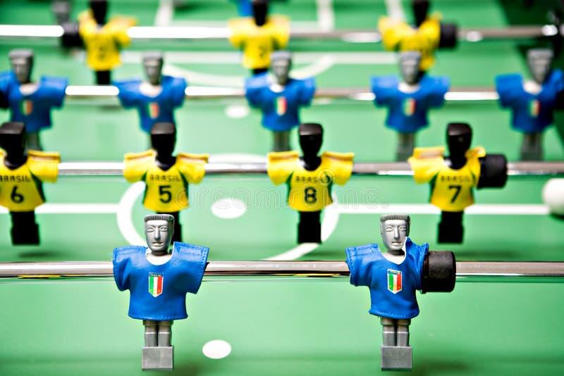 De voetbal van het stuk speelgoed royalty-vrije stock afbeelding
