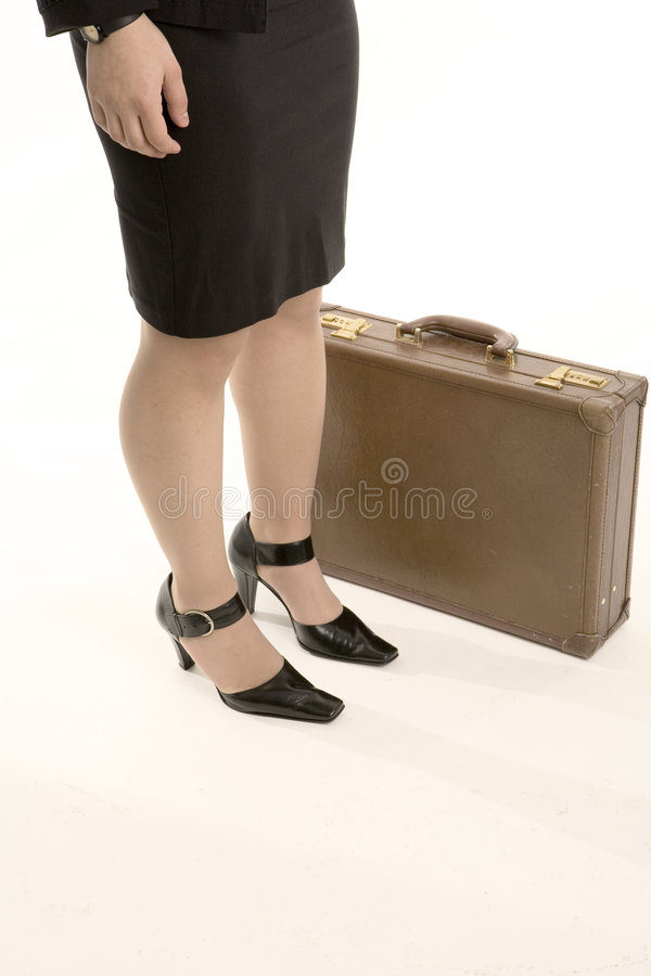 De voeten van de vrouw royalty-vrije stock afbeelding