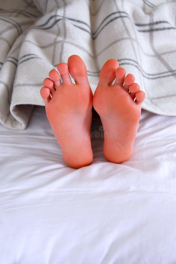 De voeten van het kind royalty-vrije stock foto