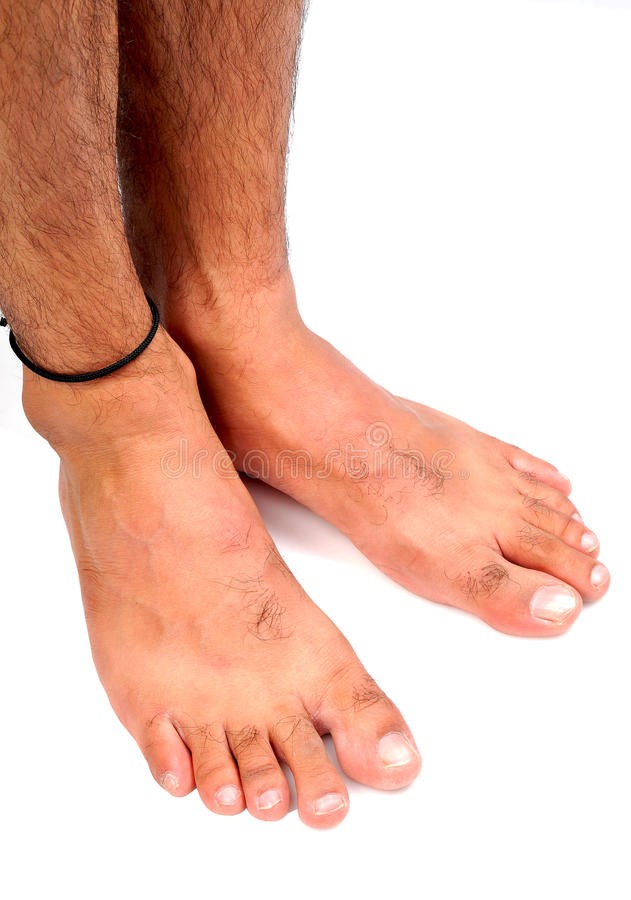 De voeten van mensen stock foto