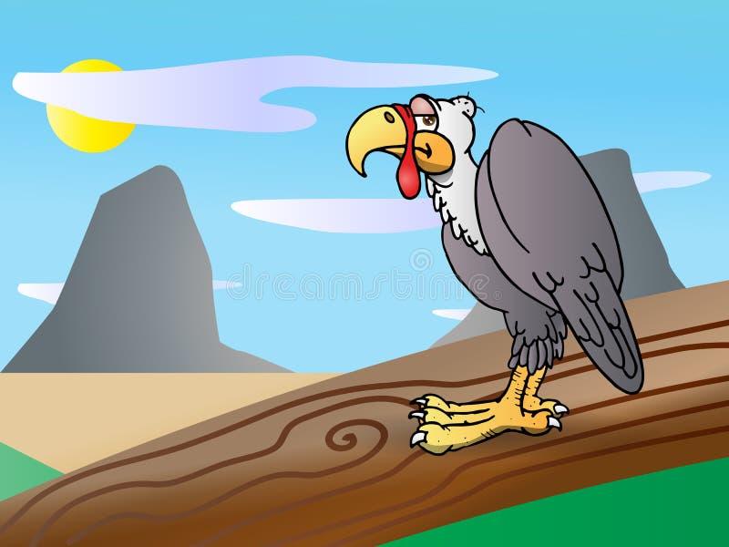De vogel van de condor vector illustratie
