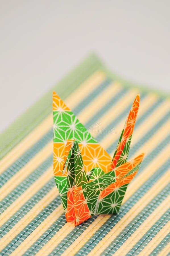 De vogel van de origami royalty-vrije stock foto's