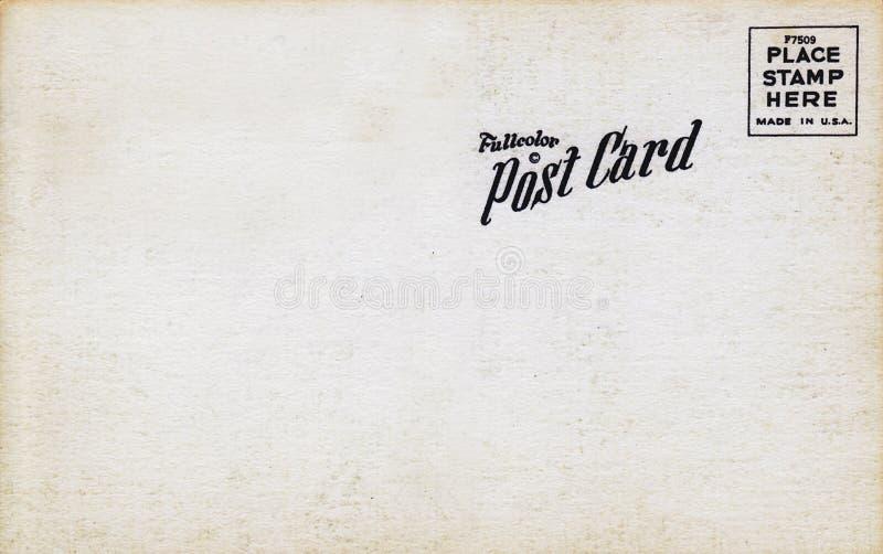 De volledige jaren '60 van de Prentbriefkaar van de Kleur stock afbeelding