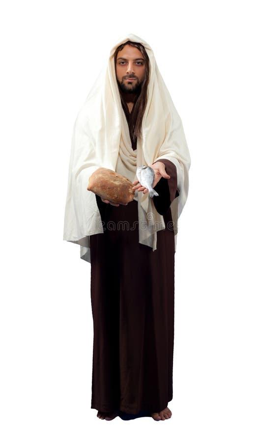 De volledige lengte van Jesus Christ stock afbeeldingen