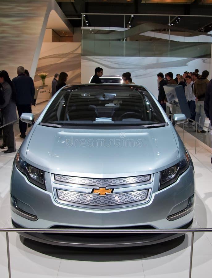 De Volt van Chevy bij de Show van de Motor van Genève Internationale royalty-vrije stock afbeeldingen
