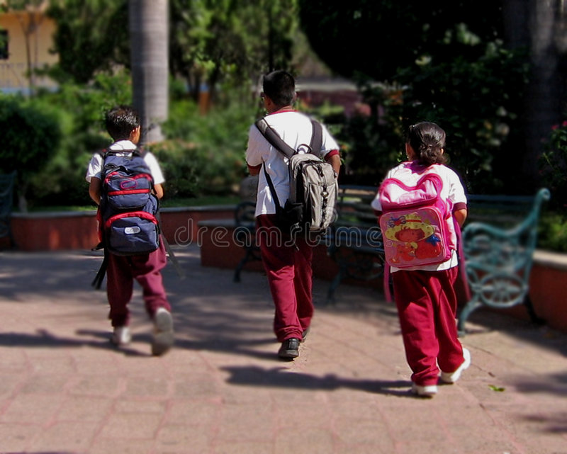 De volta à escola! fotografia de stock
