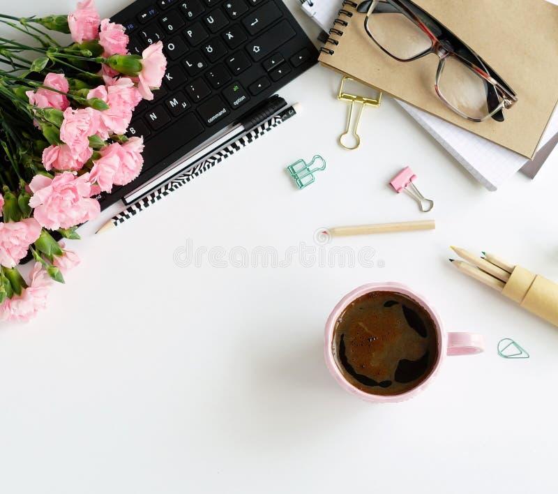 De volta à escola, conceito do dia do ` s do professor, educação do escritório para negócios, conceito do feriado Copie o espaço  imagem de stock