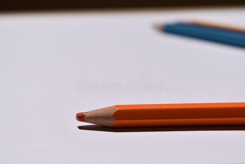 De volta à escola - lápis - piz do ¡ do là do cole do al de Vuelta imagens de stock royalty free