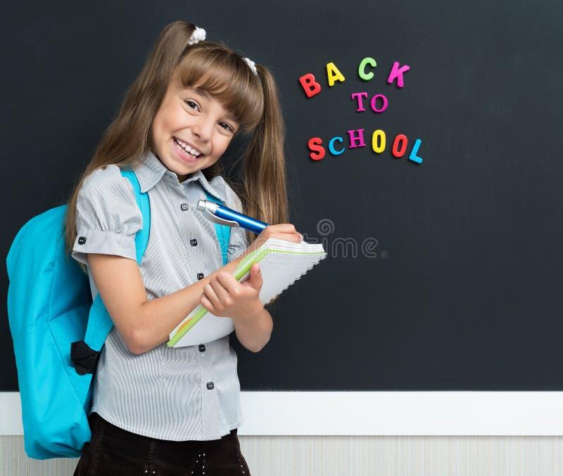 De volta ao conceito da escola foto de stock