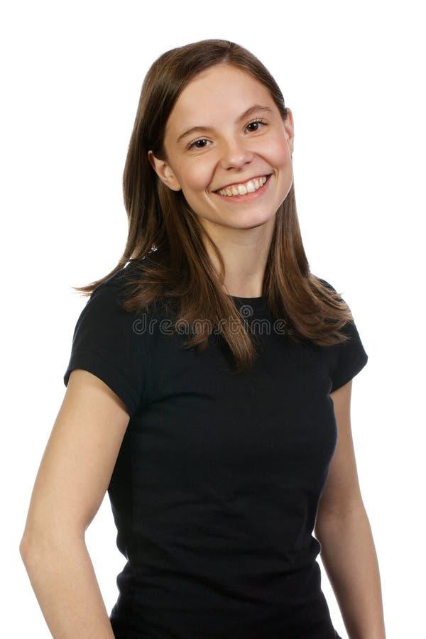 De volwassen Vrouw bevindt zich vol vertrouwen royalty-vrije stock foto