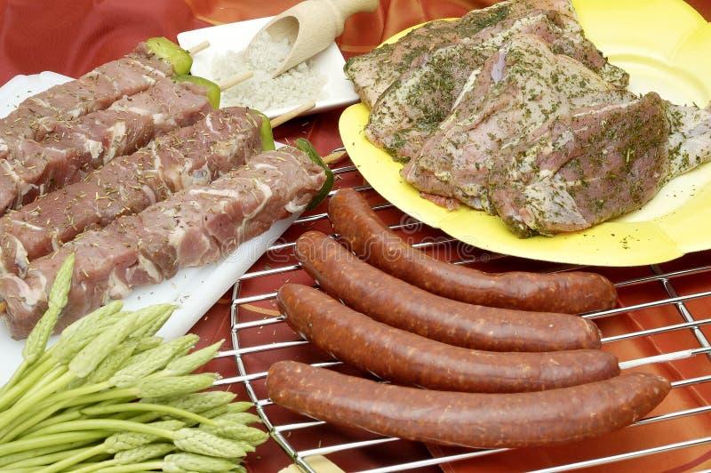 De voorbereiding van het voedsel stock foto's