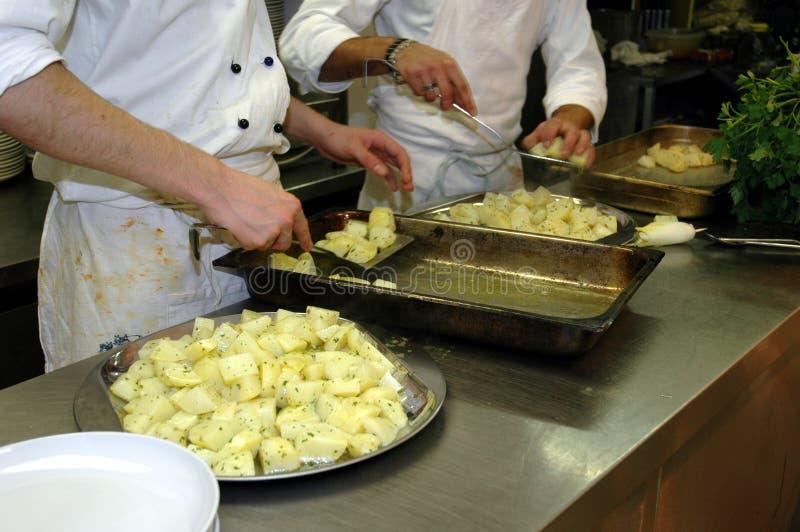De Voorbereiding van het voedsel