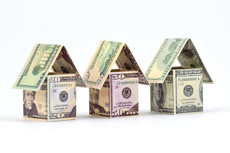 De voordelen van de onroerende goedereninvestering stock foto