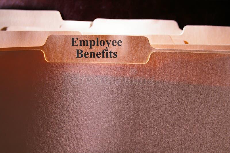 De Voordelen van de werknemer royalty-vrije stock foto