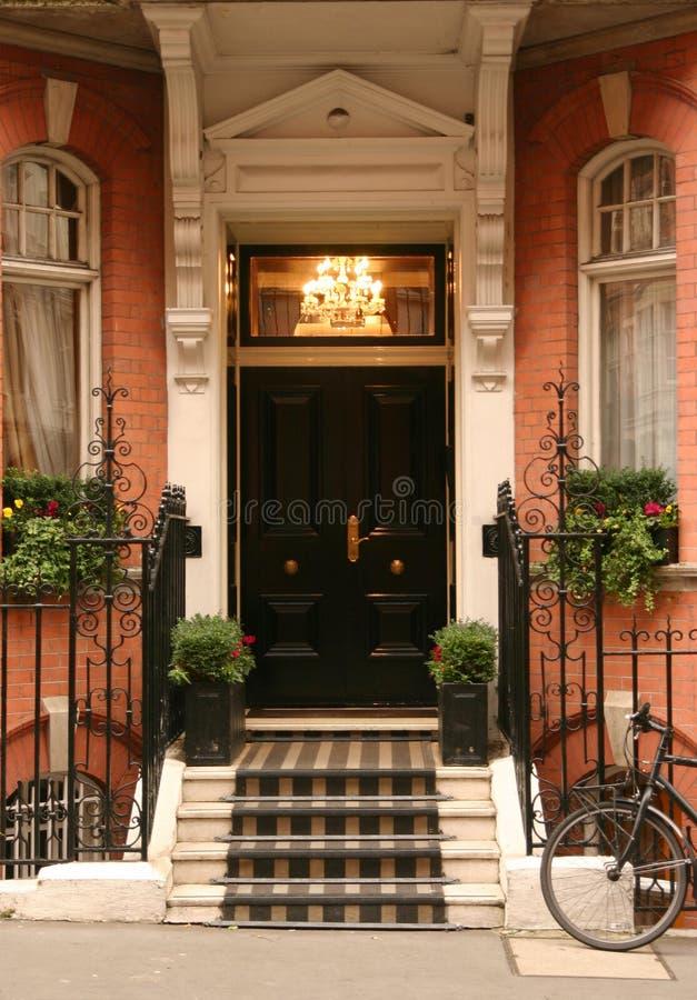 De voordeur royalty-vrije stock afbeelding