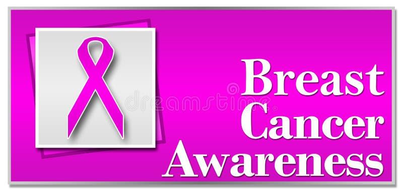 De Voorlichtingsroze van borstkanker stock illustratie