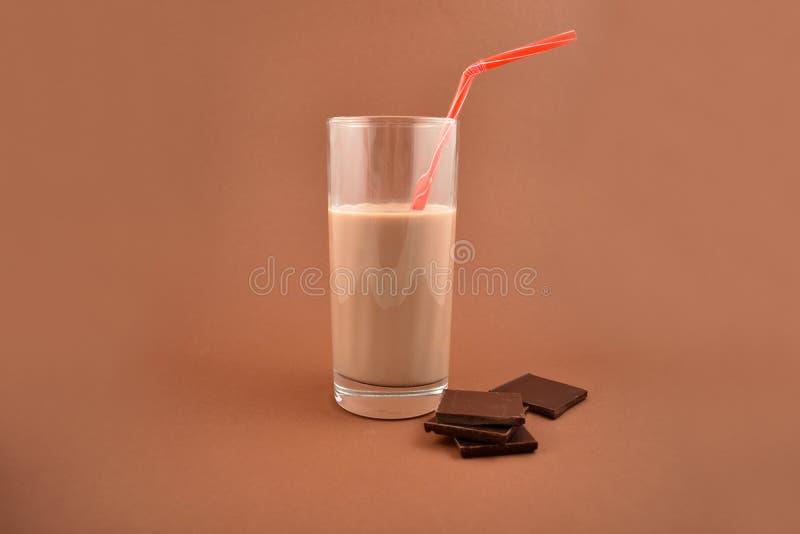 De voorraadbeelden van de chocolademelk stock foto