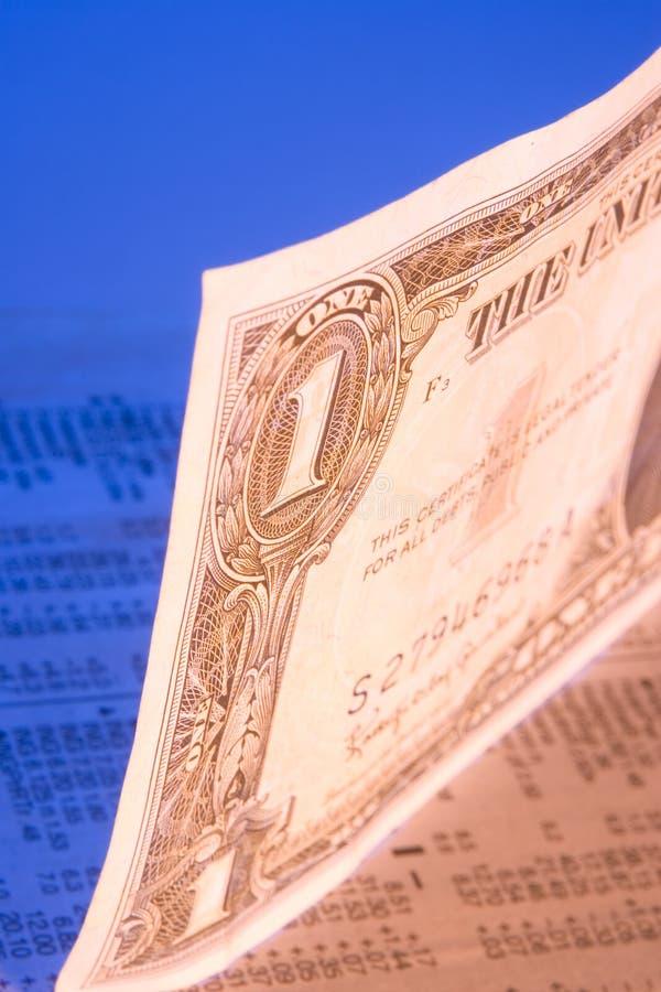 De voorraden van de dollar royalty-vrije stock foto's