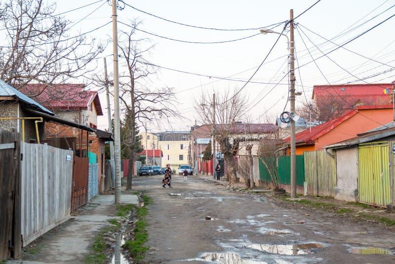 De voorsteden van Boekarest royalty-vrije stock foto's