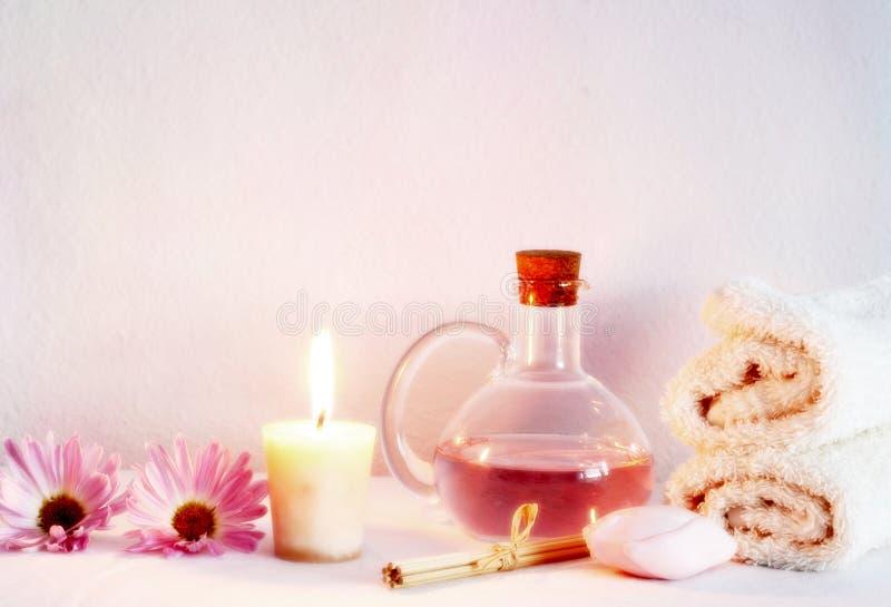 De voorwerpen van Aromatherapy stock foto's