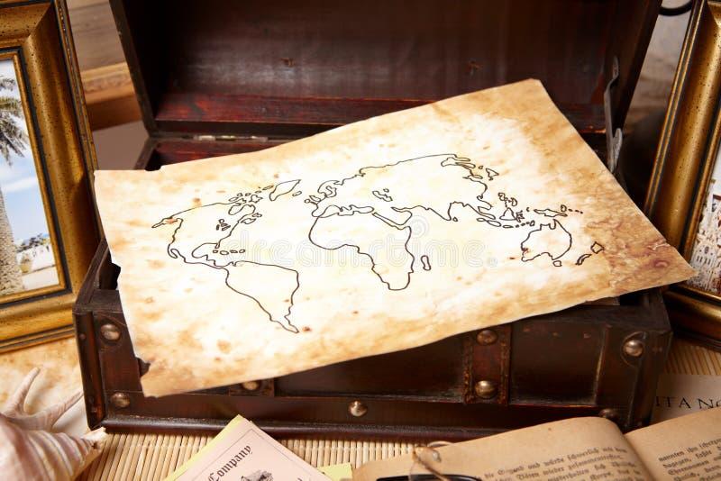 De voorwerpen van de reis stock afbeelding