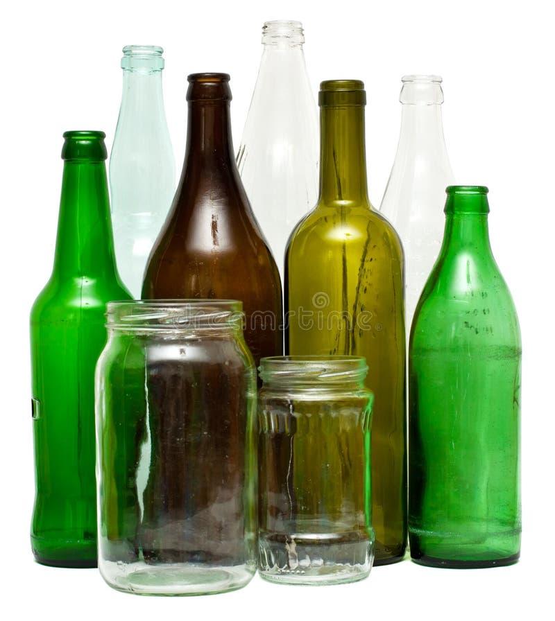 De voorwerpen van het glas royalty-vrije stock afbeeldingen