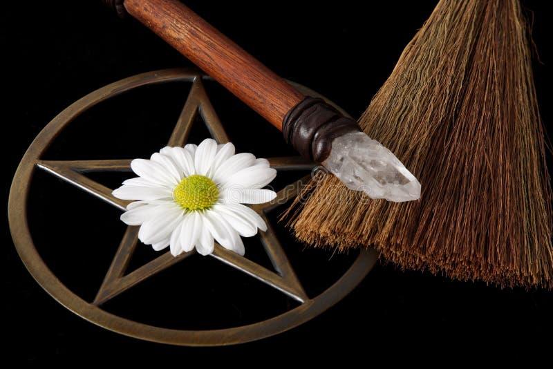 De Voorwerpen van Wiccan royalty-vrije stock foto's
