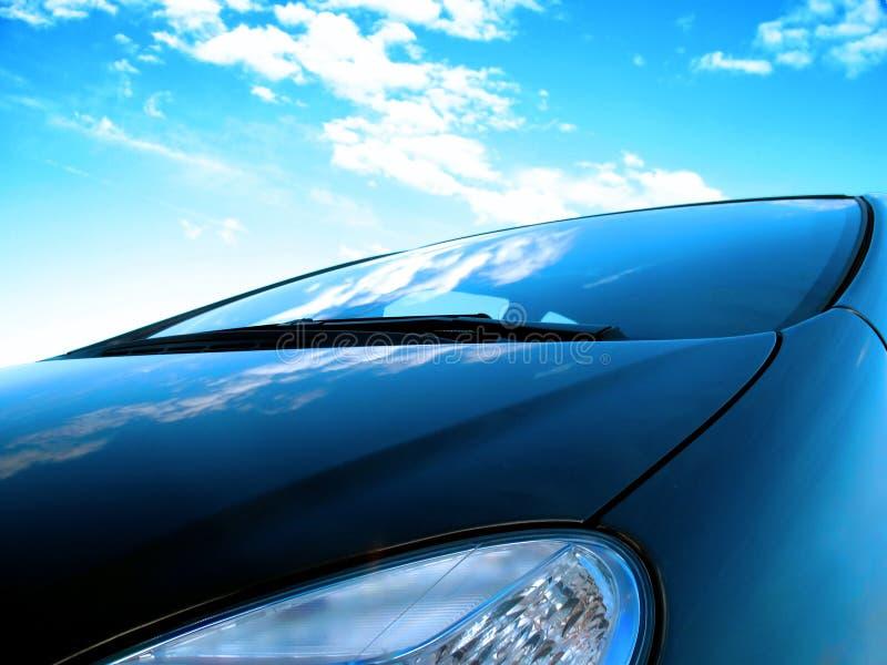 De voorzijde van de auto royalty-vrije stock afbeelding