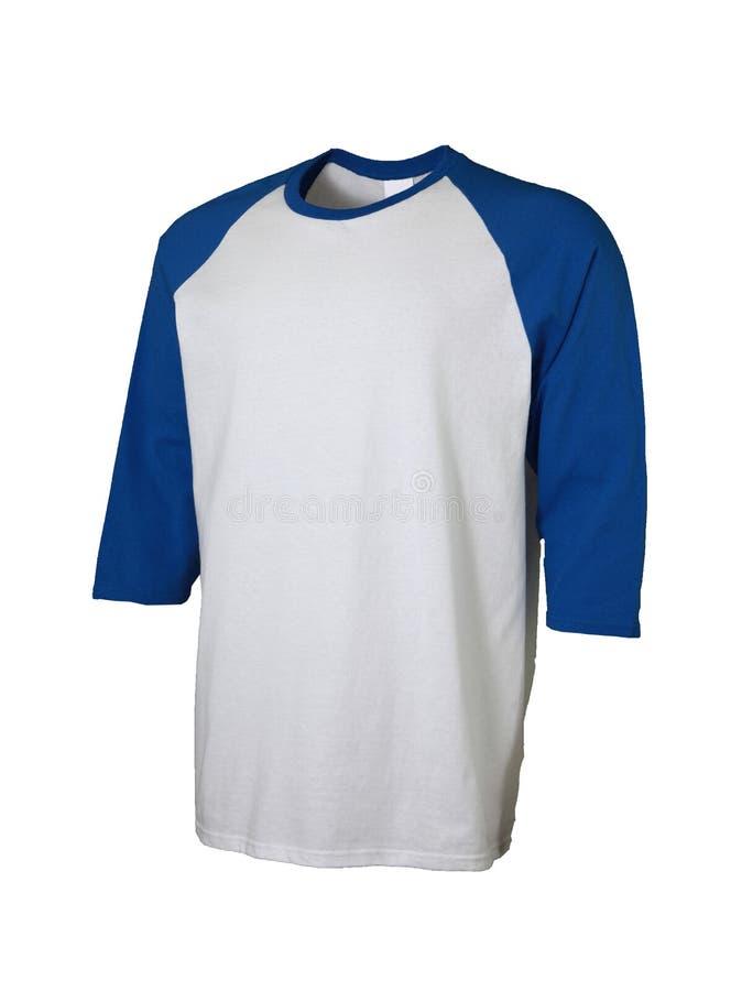 De Voorzijde van de honkbalt-shirt stock afbeeldingen