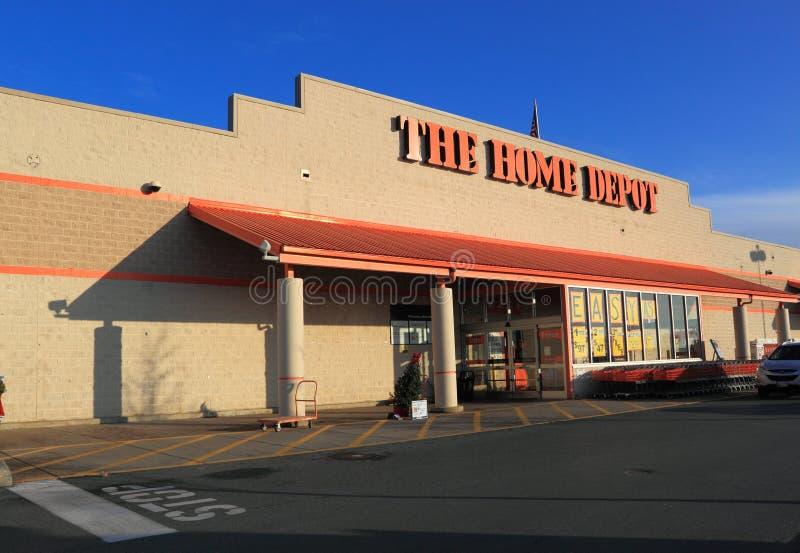 De Voorzijde van de Opslag van Home Depot royalty-vrije stock foto's