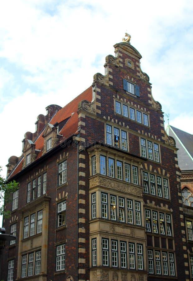 De voorzijde van een historisch gebouw royalty-vrije stock fotografie