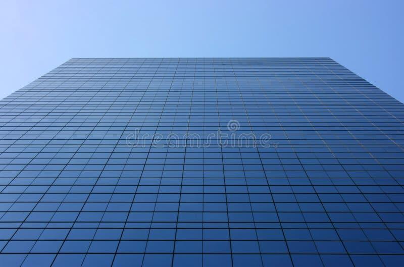 De voorzijdeperspectief van het glas royalty-vrije stock foto's