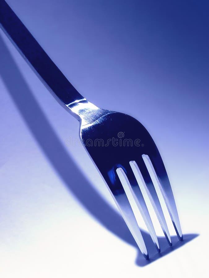 De vork van het voedsel royalty-vrije stock afbeeldingen