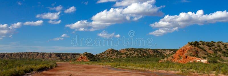 De Vork van de prairiehondstad van de Rode Rivier stock foto's