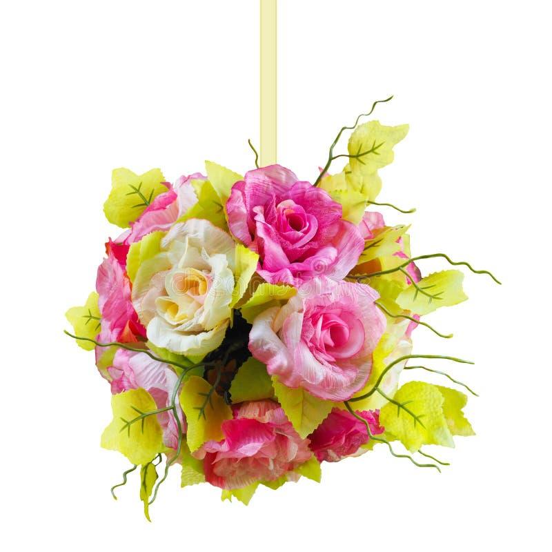 De vorm van de bloembal stock foto