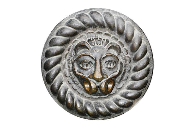 De vorm van de leeuw royalty-vrije stock afbeelding
