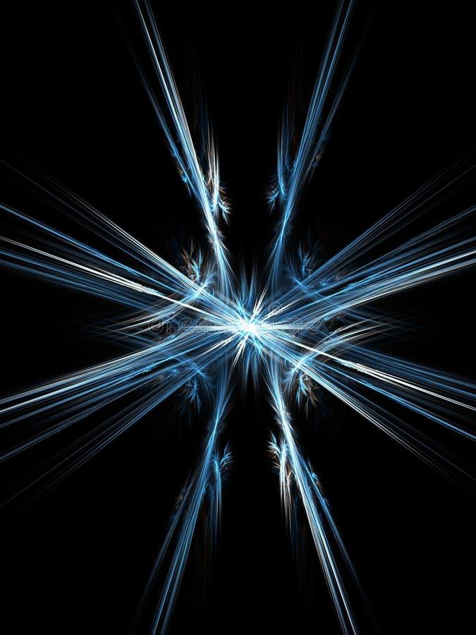De vorm van de ster stock illustratie