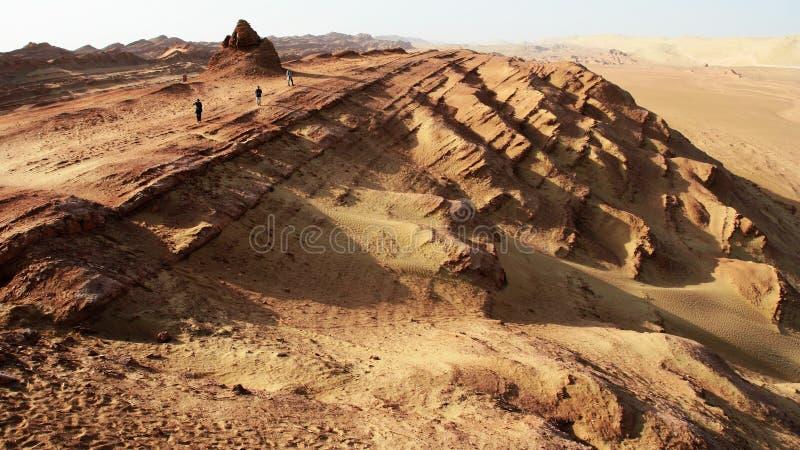 De vorm van de woestijn stock fotografie